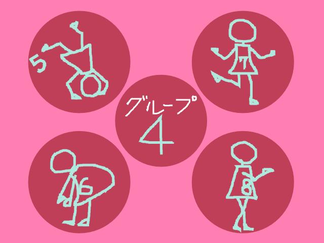 バーナムピアノテクニック1巻 グループ4の5-8番の棒人形さんのつもり