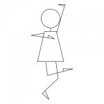 Inkscapeで棒人形さんを描こう!(ベジ絵で)