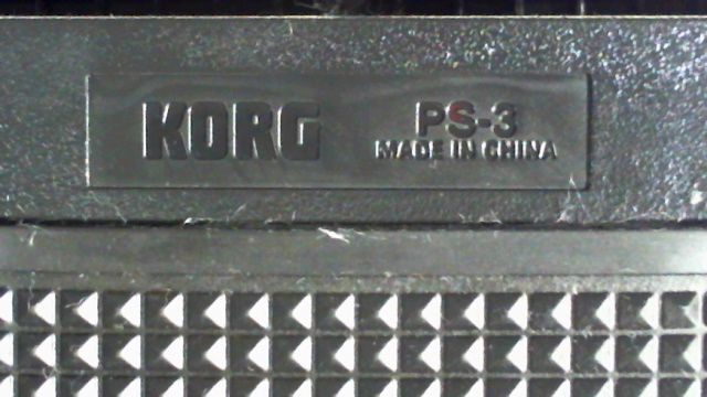 KORG PS-3 MADE IN ...