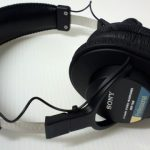 モニターヘッドホン「SONY MDR-7506(通称「青帯」)」買ったったっ!