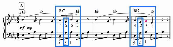 8部音符で真・アルペッジョ、苦手ぇ・・・