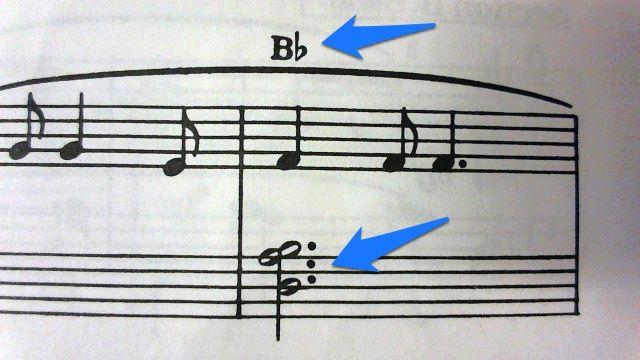 B♭7の誤植(『バスティンレベル3』, 「夕べのいのり」, p. 49)