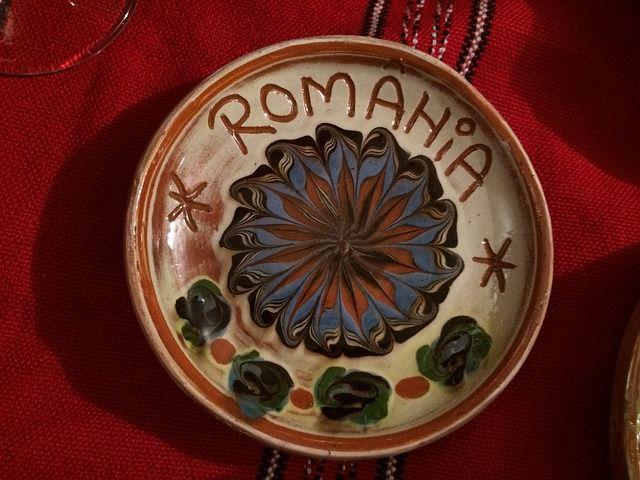 NがHに見えるけどルーマニアの皿