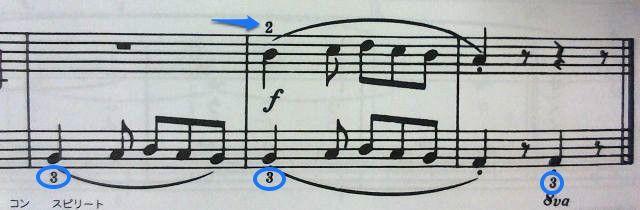 左手指番号なぜ3?