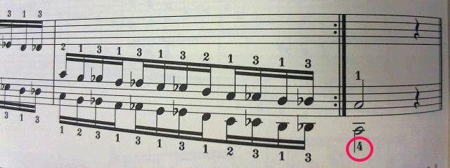 ハノン第2部半音階 終了