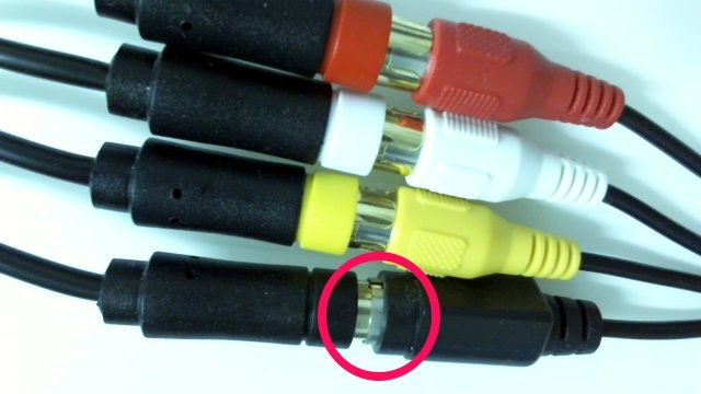IODATA GV-USB2とコロンバスサークル・(PS3/PS2/PS用) S+AV端子ケーブル