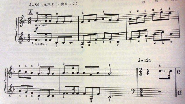DQ1序曲の冒頭部分