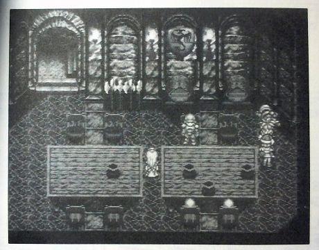 クロノ・トリガー中世ガルディア城、倒れてる兵士