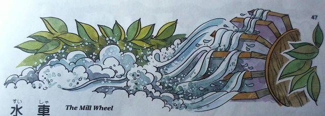 バスティン4巻「水車」のイラスト